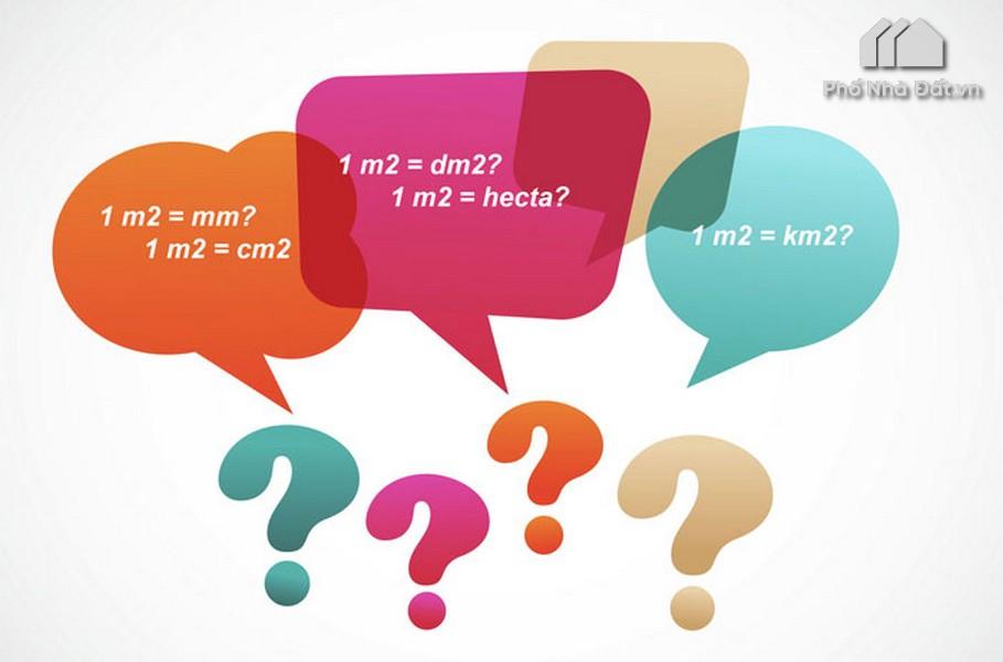 1 m2 bằng bao nhiêu ha, bao nhiêu cm2, dm2, mm2, km2 ? #2020