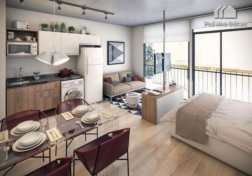 Căn hộ Studio là gì? Kinh nghiệm mua bán/cho thuê căn hộ Studio
